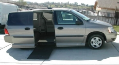 ford freestar 2004 wheelchair vans