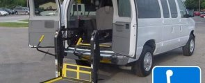 Ford Wheelchair Vans Rear Entry Access Options