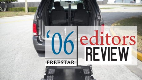 Editorial: Lackluster 2006 Ford Freestar Wheelchair Vans