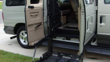 Ford Wheelchair Vans Side Entry Access Options