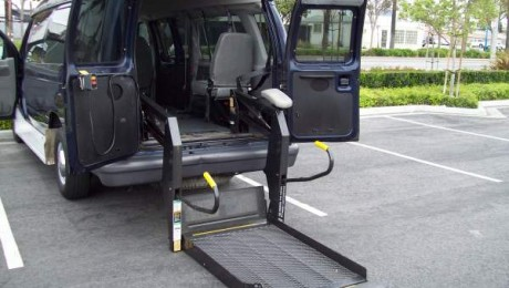 Ford Wheelchair Van Lift Entry Options