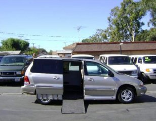 How Is a Ford Modified for Wheelchair Access