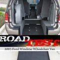On the Road: 2003 Ford Windstar Wheelchair Vans