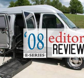 Editorial: Spacious Bouncy 2008 Ford E-Series Wheelchair Vans