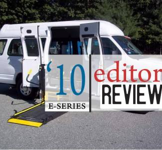Editorial: Undesireable 2010 Ford E-Series Wheelchair Vans