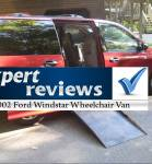 Expert Review: 2002 Ford Windstar Wheelchair Vans
