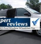 Expert Review: 2003 Ford Windstar Wheelchair Vans